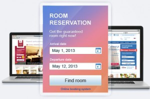 Hotel web design hotel reservation system online hotel for Design hotel reservation system