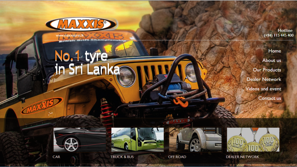 MAXXIS TYRES.LK