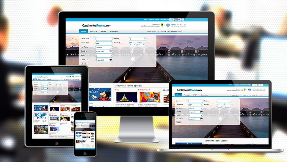 XML Based Travel Portal Website Designers