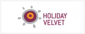 holiday velvet logo online hotel booking manager