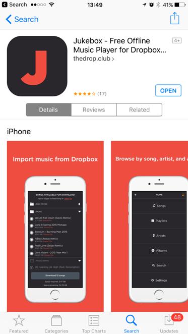 JukeBox AppStore